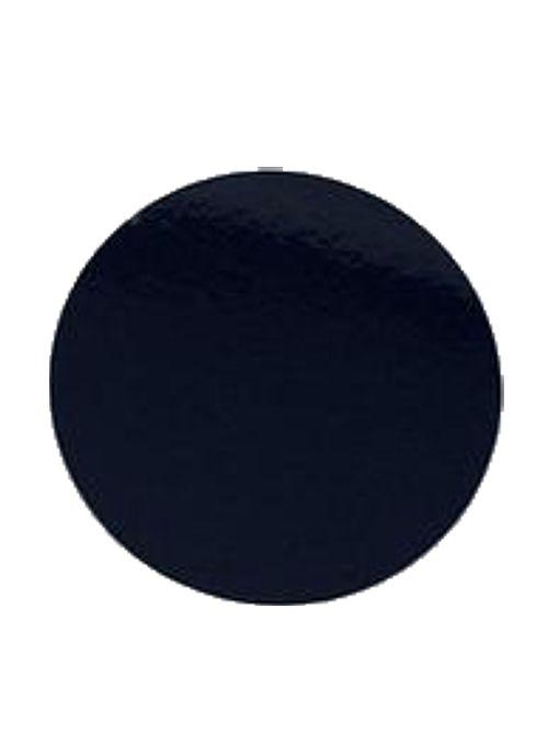 Подложка круглая черная