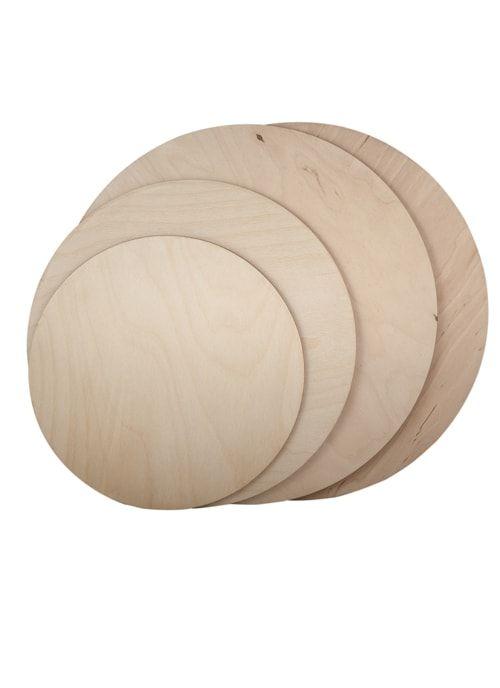 Подложка круглая Фанера