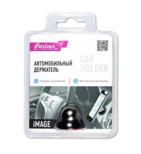 Держатель автомобильный для смартфонов iMage (магнитный), Partner