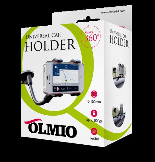 Держатель автомобильный для смартфонов, OLMIO