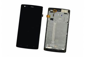 LCD (Дисплей) Fly FS501 Cirrus 1 (в сборе с тачскрином) (в раме) (black) Оригинал