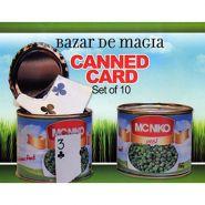 Карта в консервной банке - Canned Card (красная карта) (набор из 10 банок) by Bazar de Magia