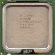 Процессор Intel Pentium 4 515 - lga775, 90 нм, 1 ядро/1 поток, 2.93 GHz, 84W, 533 MHz