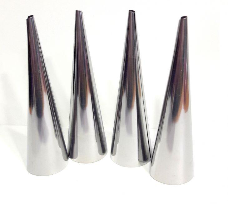Формы для трубочек с кремом 4 шт 3х12,2 см 865-017