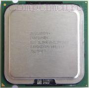 Процессор Intel Pentium 4 521 - lga775, 90 нм, 1 ядро/1 поток, 2.8 GHz, 84W, 800 MHz