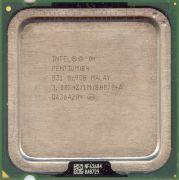 Процессор Intel Pentium 4 531 - lga775, 90 нм, 1 ядро/1 поток, 3.0 GHz, 84W, 800 MHz