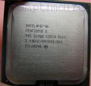 Процессор Intel Pentium D 945 - lga775, 65 нм, 2 ядра/2 потока, 3.4 GHz, 95W, 800 MHz