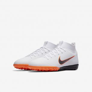 Детские сороконожки NIKE MERCURIALX SUPERFLY VI ACADEMY JR AH7344-107