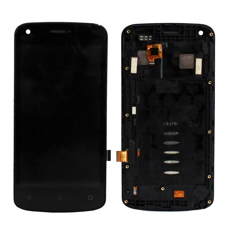 LCD (Дисплей) Fly FS456 Nimbus 14 (в сборе с тачскрином) (в раме) (black) Оригинал