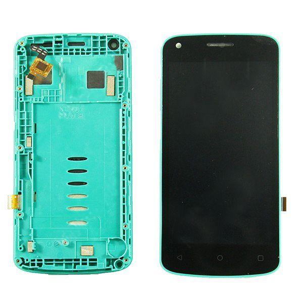 LCD (Дисплей) Fly FS456 Nimbus 14 (в сборе с тачскрином) (в раме) (green) Оригинал