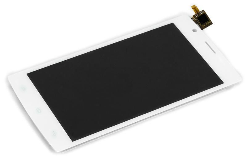 LCD (Дисплей) Fly FS501 Nimbus 3 (в сборе с тачскрином) (white) Оригинал