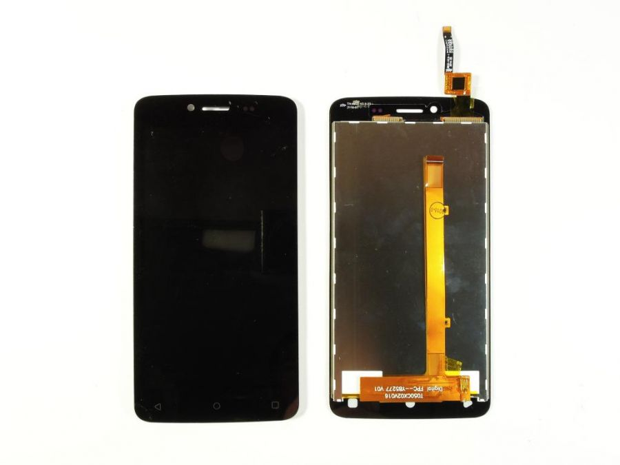 LCD (Дисплей) Fly FS505 Nimbus 7 (в сборе с тачскрином) (black) Оригинал