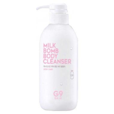 Молочко очищающее для тела Berrisom G9SKIN Milk Bomb Body Cleanser 500мл