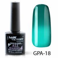 Термогель-лак Lady Victory GPA - 18, 7.3 мл