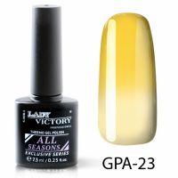 Термогель-лак Lady Victory GPA - 23, 7.3 мл