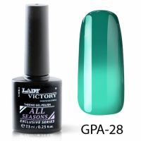 Термогель-лак Lady Victory GPA - 28, 7.3 мл
