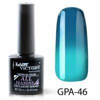 Термогель-лак Lady Victory GPA - 46, 7.3 мл