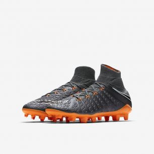 Детские бутсы NIKE HYPERVENOM PHANTOM 3 ELITE DF FG JR AH7292-081