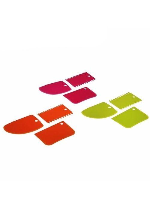 Набор шпателей кондитерских 3 предмета 12x8 см