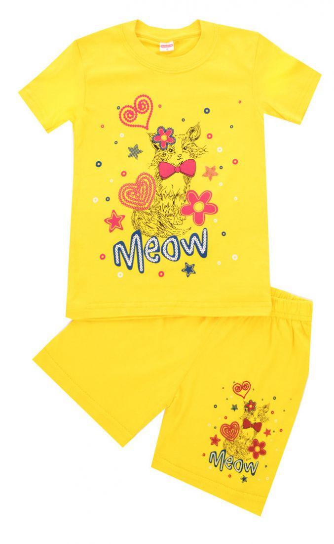 Комплект для девочки Meow