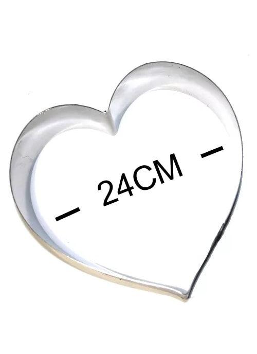 Кольцо металическое СЕРДЦЕ 240х205мH100мм
