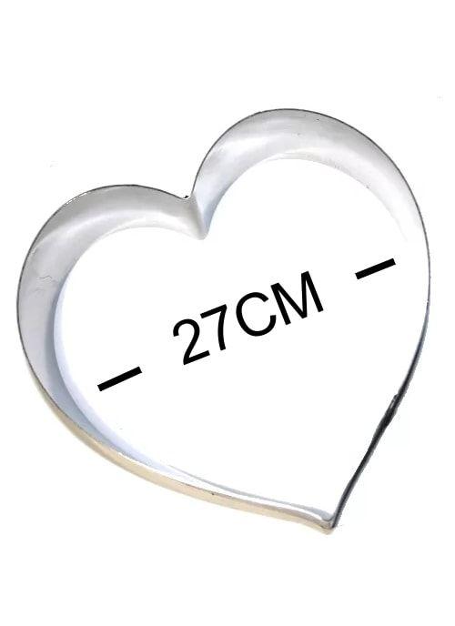 Кольцо металическое СЕРДЦЕ 270х220мм
