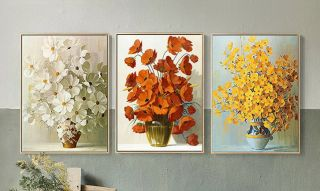 Цветочное трио