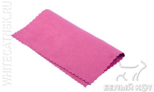 Салфетка для лица Nano Sliced 20 х 20 см малиновая