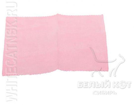 Салфетка для лица Nano Sliced 20 х 20 см розовая