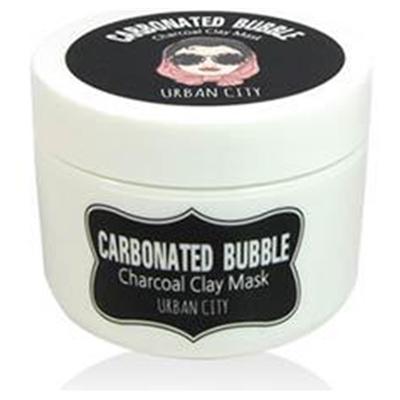 Baviphat Маска для лица глиняно-пузырьковая на основе угольного порошка Urban City Carbonated Bubble Charcoal Clay Mask 100мл