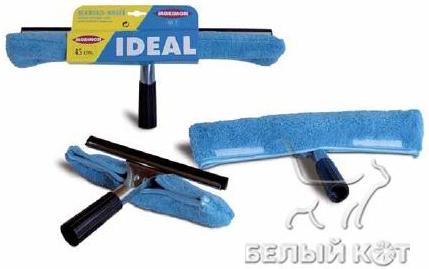 Швабра для мытья окон Morimon телескопическая ручка 35 см