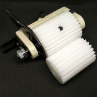 Задний пуллер для продвижения материала на поясную машину