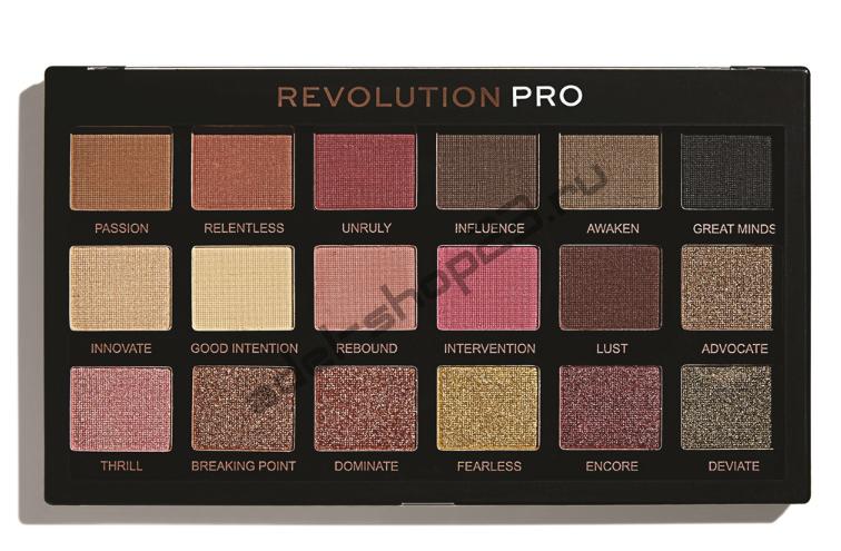 """MakeUp Revolution - Тени для век Pro """"Revelation"""" 18 цв"""