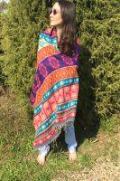 Тёплый индийский палантин / плед, фото, купить в шоуруме этнической одежды в Москве