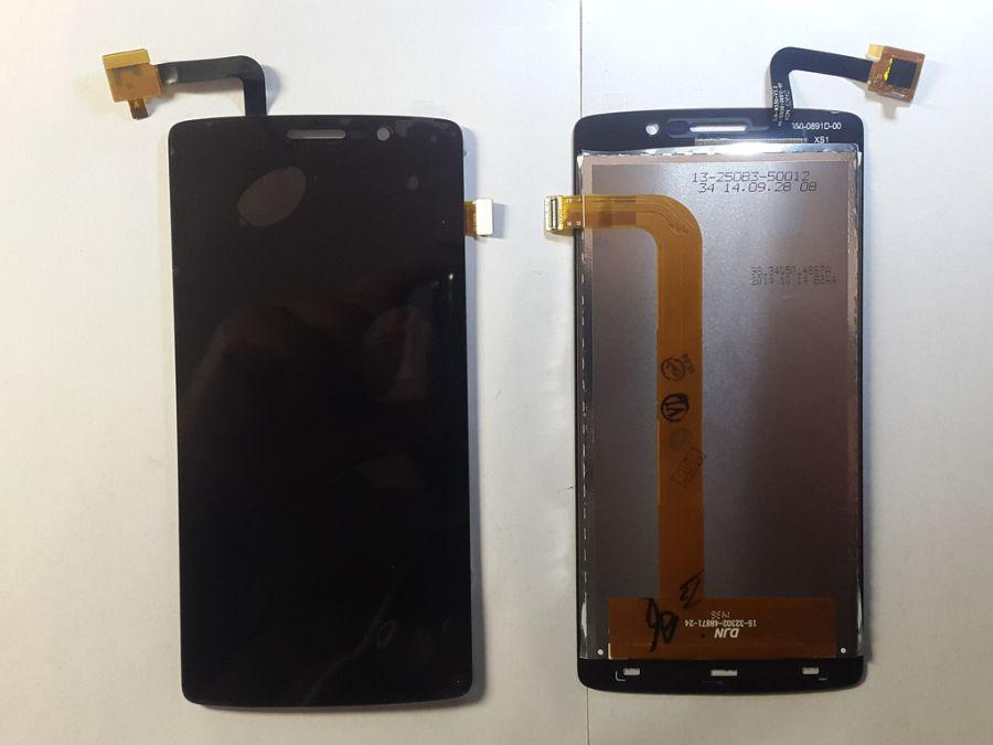 LCD (Дисплей) Fly IQ4504 EVO Energy 5 (в сборе с тачскрином) (black) Оригинал