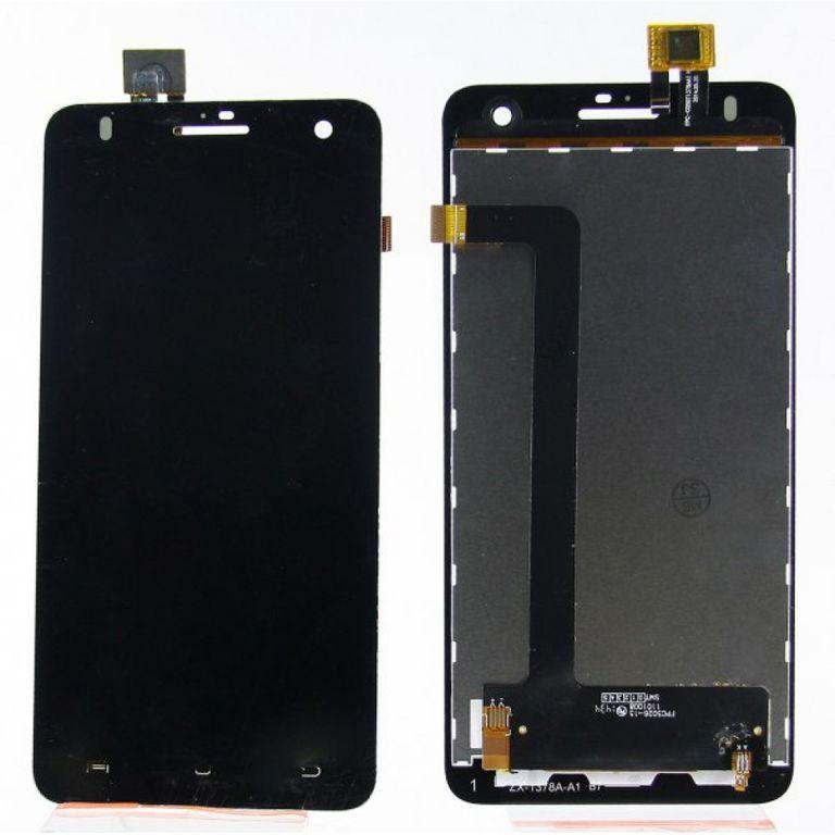 LCD (Дисплей) Fly IQ4512 EVO Chic 4 Quad (в сборе с тачскрином) (black) Оригинал