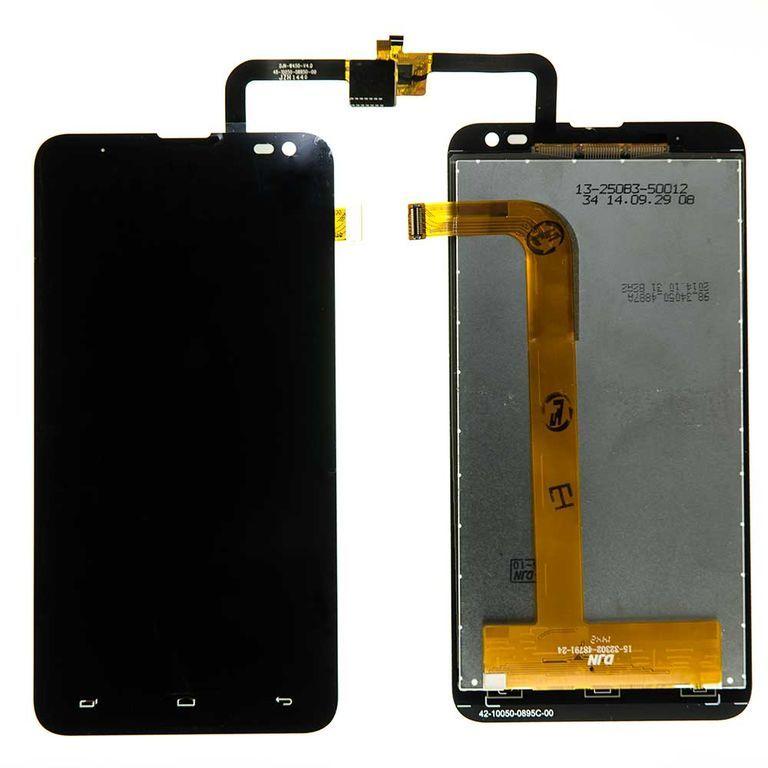 LCD (Дисплей) Fly IQ4514 EVO Tech 4 (в сборе с тачскрином) (black) Оригинал