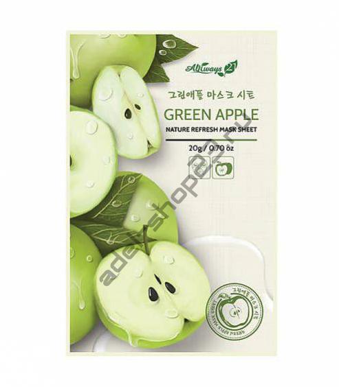 Always21 - Тканевая маска для лица Green Apple