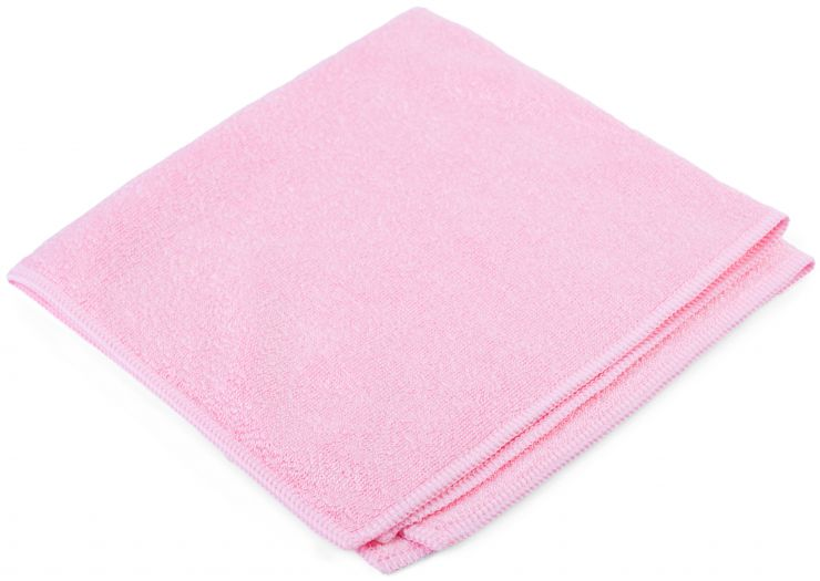 Салфетка Люкс 32 х 31 см розовая