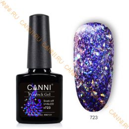 Гель-лак CANNI Peacock gel 723
