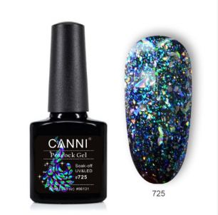 Гель-лак CANNI Peacock gel 725