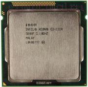 Процессор Intel Xeon E3-1220 - lga1155, 32 нм, 4 ядра/4 потока, 3.1-3.4 GHz, 80W [6086]