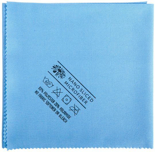 Салфетка для стекла Традиционная 40 х 50 см голубая