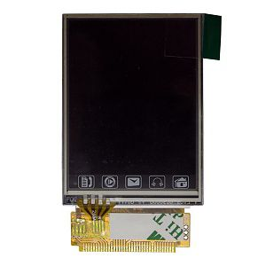 LCD (Дисплей) Fly 2080 (в сборе с тачскрином) Оригинал