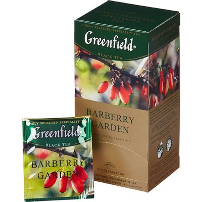 Чай Greenfield Barberry garden с барбарисом 25 пак.
