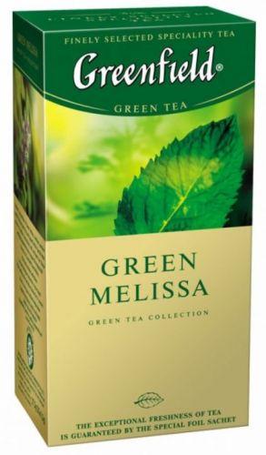 Чай Greenfield Green Melissa с мелиссой 25 пак.