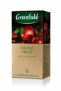 Чай GREENFIELD Grand Fruit черный аромат., пакет., 25 шт.