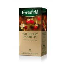ЧайGreenfield Wildberries Rooibos ройбуш-земляника-клюква 25 пак.