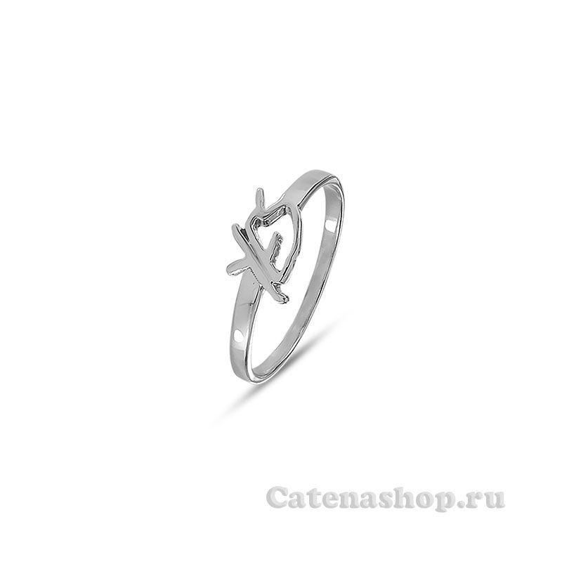 """Кольцо серебряное """"YES"""""""