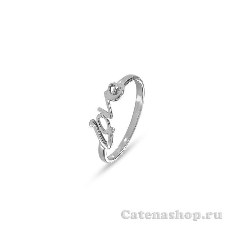 """Кольцо серебряное """"LOVE"""""""